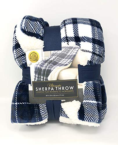 Life Comfort Ultimate Sherpa Throw