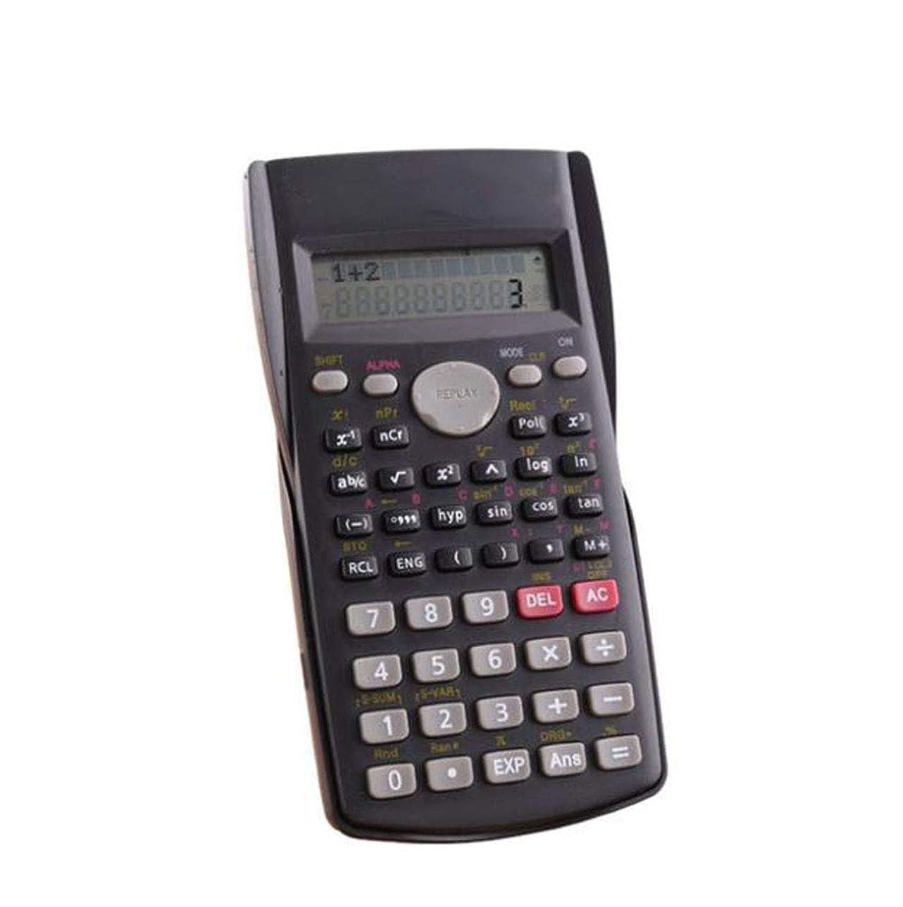アスペクトシンプトンバウンス関数電卓 電卓 2行 (電池付属) 12桁表示 240機能 高校生エンジニアリング会計用リプレイ機能