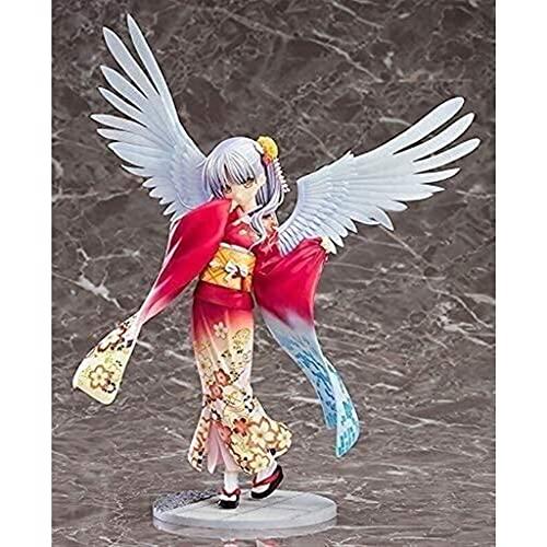 ZDVHM Figuras de acción Kimono Angel Beats Tachibana Kanade 19cm Anime Figure Figurine Carácter Modelo Estatua Escritorio Adornos Coleccionables Muñecas Juguetes Regalos para niños