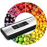 Vacuum Sealer Machine - Elegant Design - 37% More Powerful Food Vacuum...