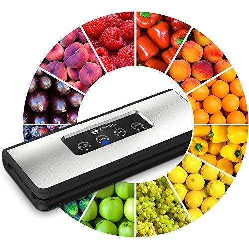 Vacuum Sealer Machine - Elegant Design - 37% More Powerful Food Vacuum Sealer Machine - Ultra Tight Sealing for Food Saver Bags - Simple as ABC