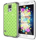 delightable24 Funda Protectora Caso Shiny Diamond Design Case para Samsung Galaxy S5 / S5 Neo Smartphone - Verde