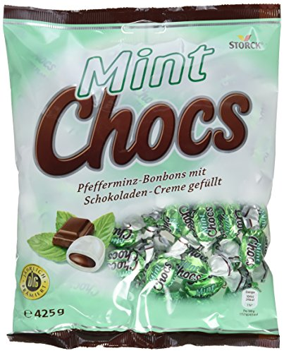 Mint Chocs (15 x 425g) / Pfefferminz-Bonbons mit Schokoladenfüllung