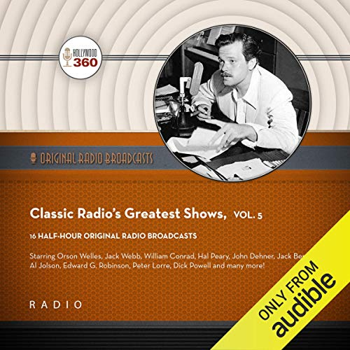 Classic Radio's Greatest Shows, Vol. 5 cover art