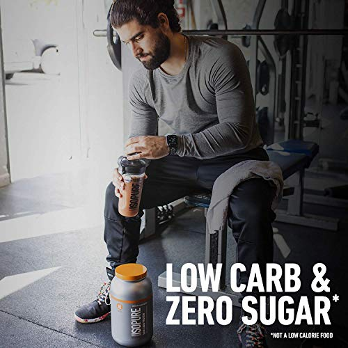 Isopure Low Carb, Vitamin C and Zinc for Immune Support, 25g Protein, Keto Friendly Protein Powder, 100% Whey Protein Isolate, Flavor: Dutc   h Chocolate, 3 Pounds (Packaging May Vary)