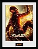 1art1 The Flash - Run Gerahmtes Poster Für Fans Und