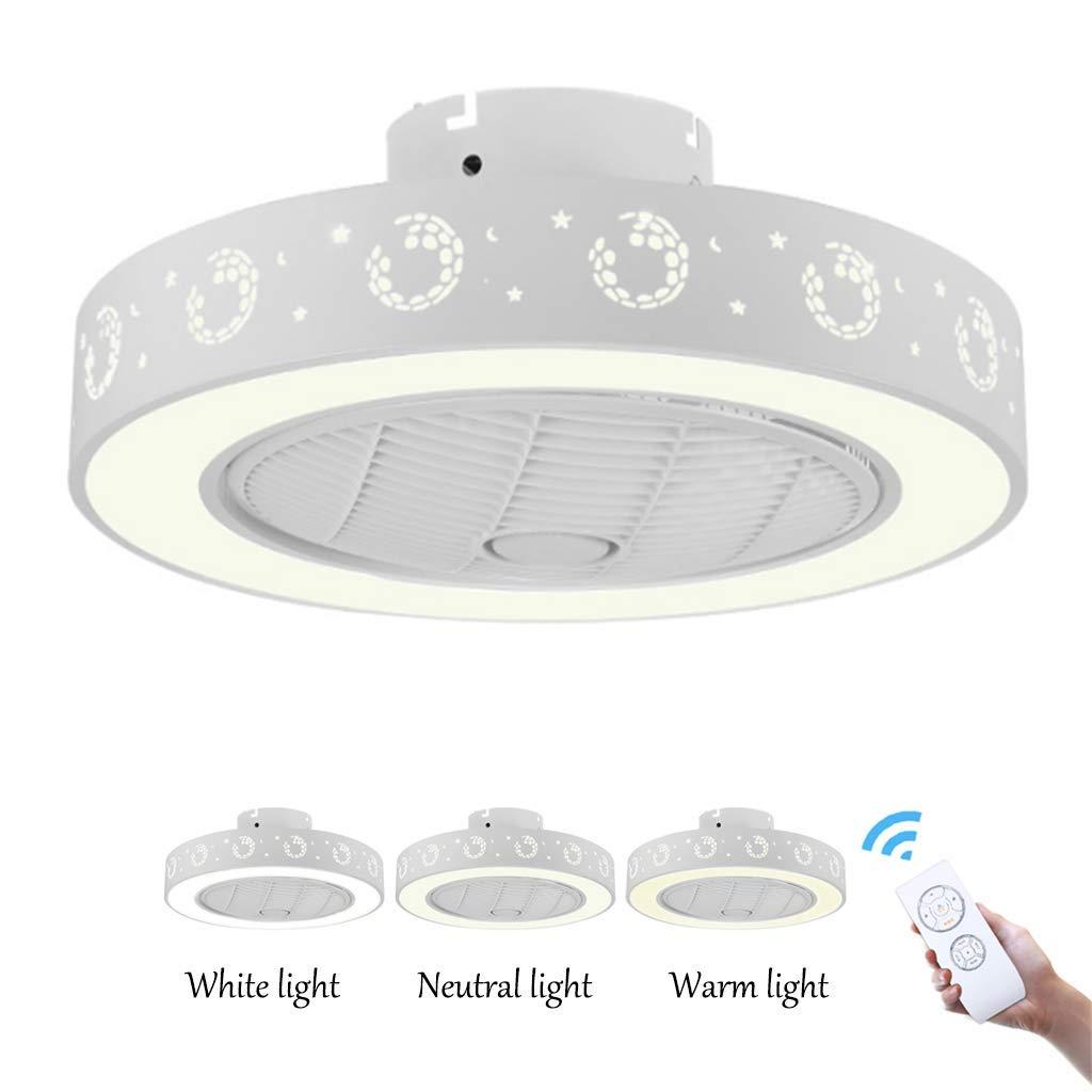 Luz de Techo del Ventilador - 36W Regulable/Velocidad/purificación ...