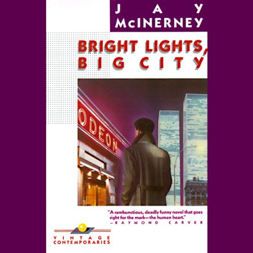 Bright Lights, Big City audiobook cover art