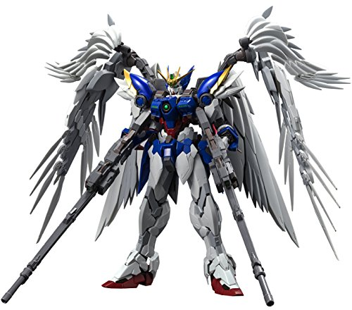 Bandai Hobby Hi-Resolution Model 1/100 Wing Gundam Zero EW Gundam Wing: Endless Waltz Model Kit Figure