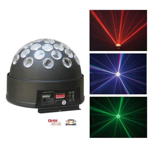 Juego de Lumiere, multicolor Proyector a efectos LED DMX 6canales LED Magic Ball