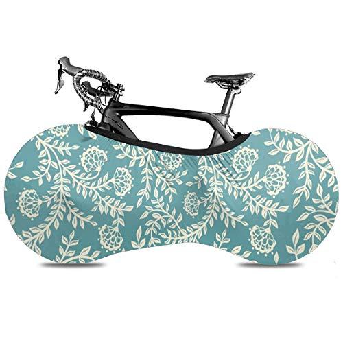 Fantasy Paisaje Galaxy Cubierta de Bicicleta Portátil Interior Anti Polvo Alta Elástica Cubierta de Rueda de Bicicleta Protector Rip Stop Neumático Carretera MTB Bolsa de Almacenamiento, Patrón étnico, talla única