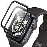 Pellicola Protettiva Compatibile con Apple Watch Series 6/5/4/SE 40mm, Protezione Pellicola Vetro Temperato per iWatch Series 40mm, Copertura totale 3D, Anti-Bolla, Trasparente HD [2 Stück]