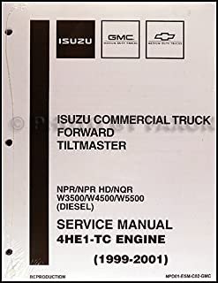 amazon com manual isuzu npr new 1999 Gmc W4500 Alternator Wiring Diagram