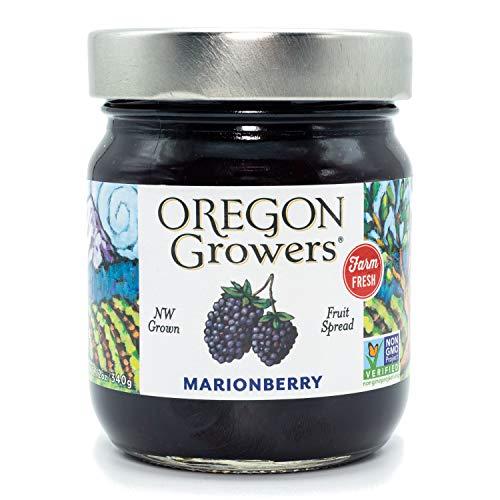 Oregon Growers Marionberry Fruit Spread, 12 oz (Single Pack)
