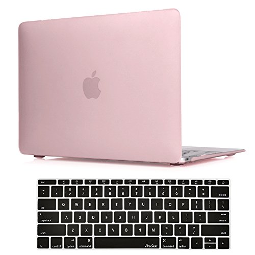 ProCase MacBook 12 Inch Case A1534, Hard Case Rubberized Shell Cover with Silicone Keyboard Skin Cover for Apple MacBook 12