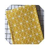 Dekorativer Bastelstoff   Geometrische Muster Bedruckter