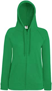 Fruit Of The Loom-Lady Fit Lightweight Hooded Zip Jacket