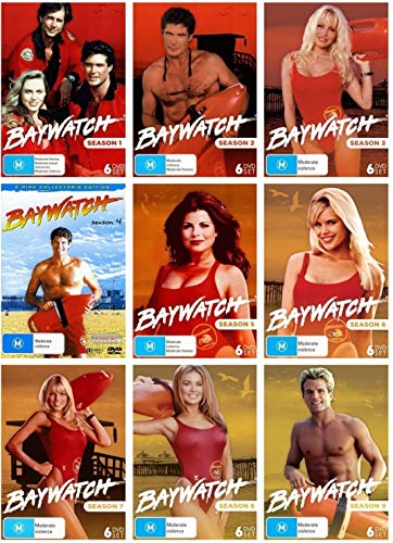 Baywatch: Original 1990s Series Complete Seasons 1-9 DVD Collection (All Regions)[DVD]