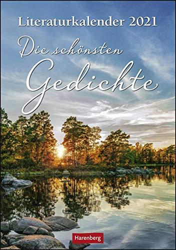 Literaturkalender Die schönsten Gedichte Kalender 2021