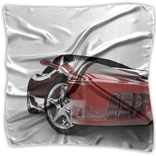 Dustproof Face Mask,Reusable,Washable Cloth,Face Cover,Cover for Dust Adults Modern Automotive Vivid Toned Car Back View Prestige Black