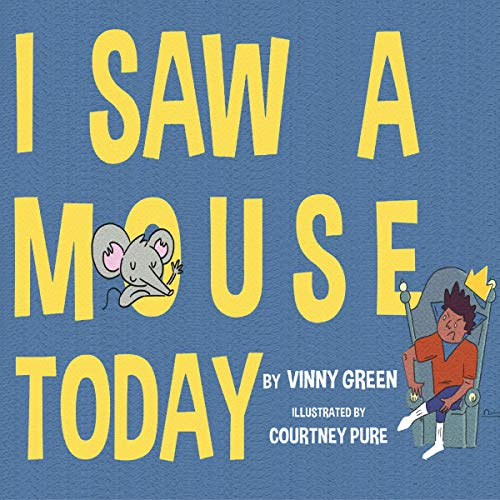I Saw a Mouse Today audiobook cover art