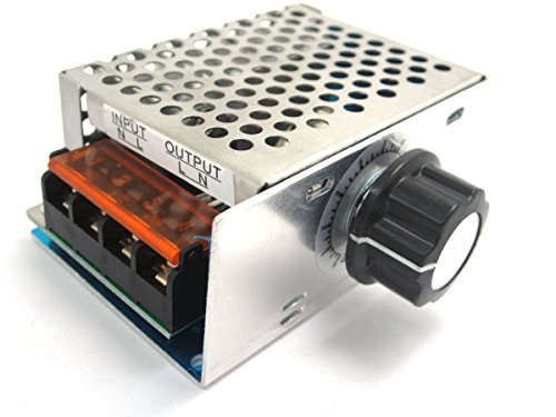 ARCELI AC 220 V 4000 Watt High Power SCR Elektronische Spannungsregler Gouverneur Dimmer Thermostat Drehzahlregler