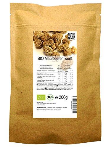 BIO Maulbeeren weiß 200 g