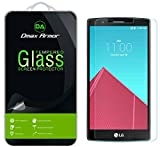 [2-Pack] Dmax Armor for LG G4 Screen Protector, [Tempered Glass] 0.3mm 9H Hardness, Anti-Scratch, Anti-Fingerprint, Bubble Free, Ultra-Clear