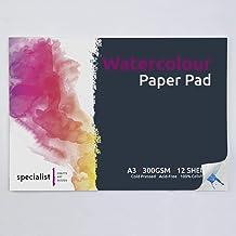 لوحة ورقية بألوان مائية A3 من سبيشاليست كرافتس