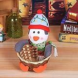 Venta De Decoraciones Navideñas Feliz Navidad Canasta De Almacenamiento De Dulces Decoración Canasta De Almacenamiento De Papá Noel Feliz Navidad Decorativa Decoración De Navidad Adornos Decoración