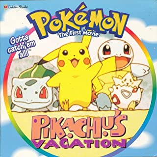 Pikachu's Vacation: Pokemon, The First Movie, Golden Look-Look Books