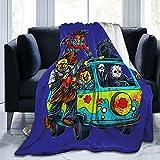 Halloween Horror Blanket Flannel Fleece Throw Blanket Cozy Plush Warm Blanket, Bed Couch Sofa Bedroom 50x40 Inch