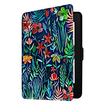 Fintie Slimshell Case for Kindle Paperwhite - Fits All Paperwhite Generations Prior to 2018  Not Fit All-New Paperwhite 10th Gen  Jungle Night
