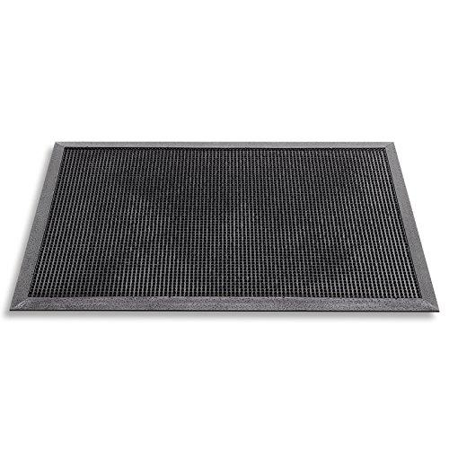 Hamat Außenmatte/Fußmatte Fingertip, 40 x 60 cm, Schwarz