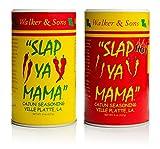 SLAP YA MAMA All Natural Cajun Seasoning from Louisiana, Spice Variety Pack, 8 Ounce Cans, 1...