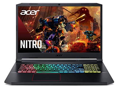 bon comparatif Ordinateur portable de jeu ACER Nitro 5 AN517-52-52NG 17 pouces Full HD (Core i5-10300H, 8 Go de RAM, SSD… un avis de 2021
