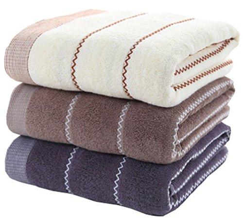 Juego de toallas de mano de algodón 3 unidades