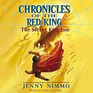 Chronicles of the Red King: The Secret Kingdom audiobook cover art