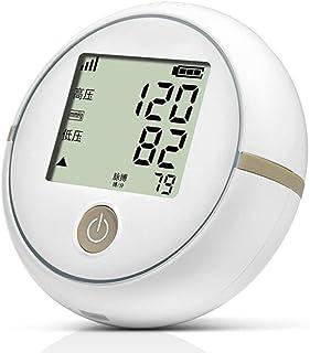 Tensiómetro de brazo Monitor de presión arterial del brazo superior - Medida de la glucosa en sangre hogar médico Cuidado mayor inteligente recargable de control del ritmo cardiaco esfigmomanómetro