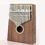 Yuzhonghua Piano de Pulgar, el Dedo portátil de 17 Teclas Marimbas, nuevos Patrones de Personalidad, fácil de Transportar Instrumentos for Principiantes (Color : Ordinary)