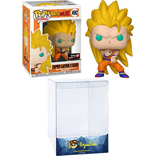 Funko Toy Figure Super Saiyan 3 Goku SS3