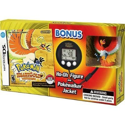 Pokemon HeartGold - Limited Edition with Ho-Oh figure, PokeWalker and PokeWalker Jacket