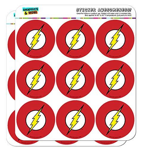 The Flash Lightning Bolt Logo Planer Kalender Scrapbooking Basteln Aufkleber 18 2