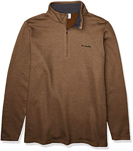 Columbia Men's Hart Mountain III Half Zip, Delta, 2X Big