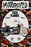 Motorcycle 2020 Planner Weekly Monthly: Old School Harley Davidson Heritage Softail on the go organizer 6 x 9 inches Matte Cover (Jan 1, 2020 to Dec 31, 2020)