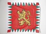 AZ FLAG Bandera del ESTANDARTE Real DE Bulgaria 1908-1940 90x90cm para Palo - Bandera Reino BULGARO 90 x 90 cm