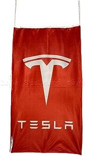 Tesla Motors RED Vertical Flag Banner 3 X 5 ft