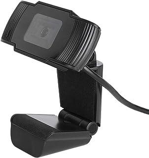 VIFER Webcam HD 3MP USB Webcam Computadora de Video Digital Cámara Web con Micrófono Incorporado(Negro)