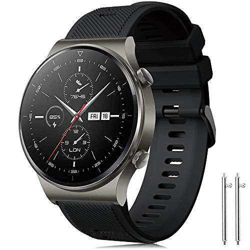 Correa Forerunner 745/Huawei Watch GT2 Pro 46mm/Galaxy Watch 3 45mm/Gear S3 Frontier/Classic/Galaxy...