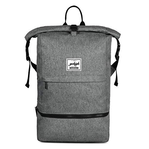 Anti-diefstal Reizen Rugzak 15.6 Inch Waterdichte Laptop Tas Fitness Rugzakken met Schoenenvak, Gym Reizen Sport Wandelen School
